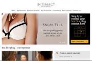 Van de Velde promotes its Marie Jo Brand on Intimacy's main web page.