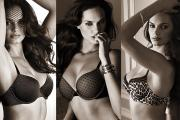Images of Scandale Paris lingerie on the brand website.