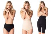 "The ""Must Have It Panty,"" ""Wonder Panty"" and ""Super-Power Slimmer"" from Body Hush."