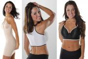 The Tankee Slip and Sportee sports bra from Shapeez.