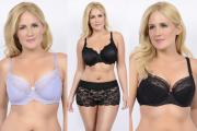 Nursing bras: Love Dot, Femme Fatale with boy short and Mama Rose