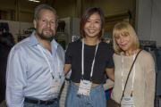Joe Buonfiglio, Nancy Yang and Suzanne Vennera of ESP.