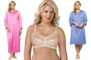 New bra and sleepwear styles.