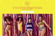 Aerie 'Real Good'  swimwear from recycled plastic bottles.
