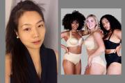 Elizabeth Wang and FinallyBra styles.