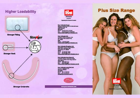 Prym Brochure For Plus Size Accessory Collection