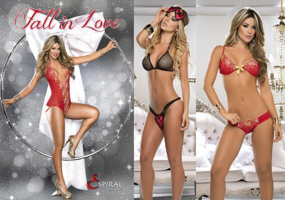 "Images from the new Espiral ""Fall in Love"" Collection."