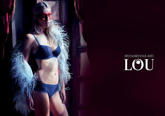 Lingerie shown on the Lou website.