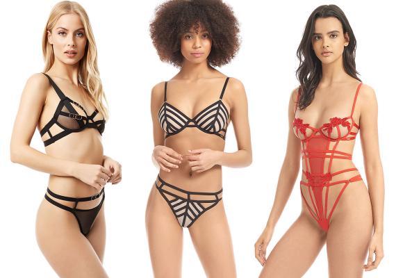 Bluebella styles on the Victoria's Secret website.