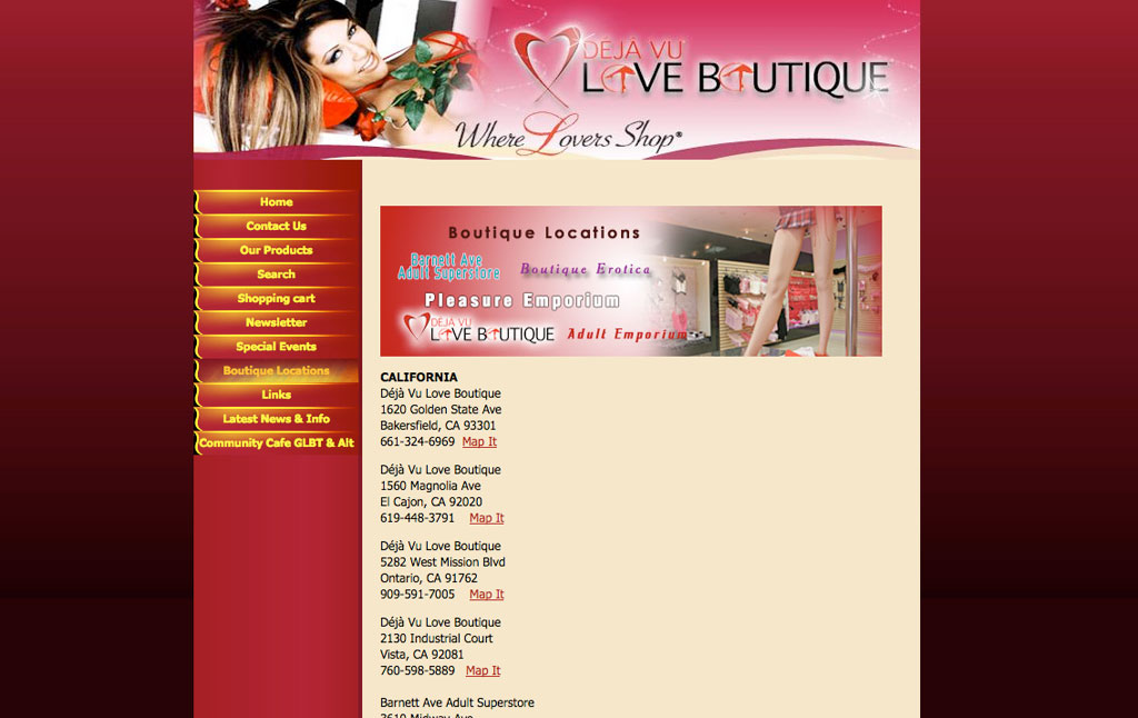 Deja vu love boutique bakersfield