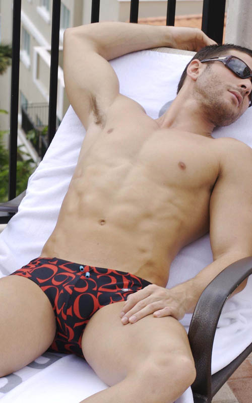 2012 men's swim styles by Unico.
