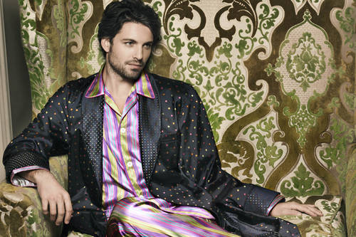 An autumn/winter 2012 nightwear style by Derek Rose.