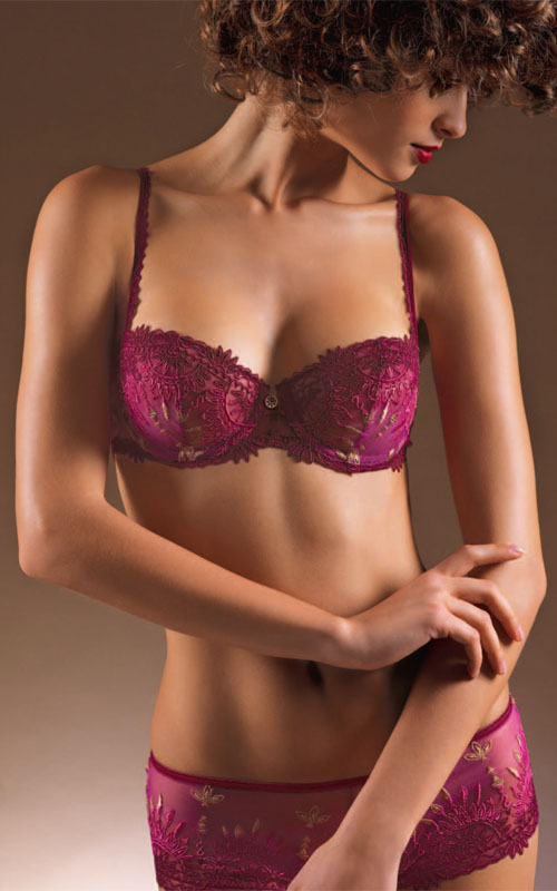 Spring/summer 2012 lingerie by Chantelle.
