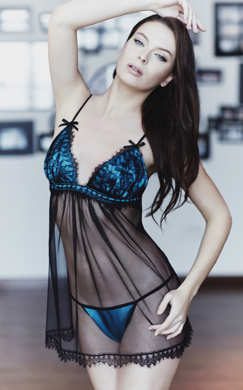 L�A Lingerie 2013 Collection (photos by David Abdallah)