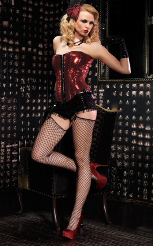 A look from Burlesque Collection by Leg Avenue.