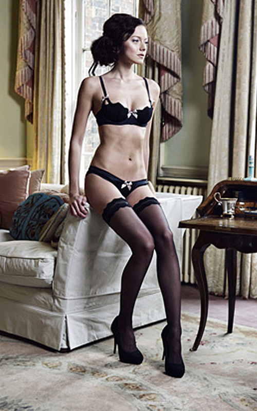 A latest look from Lucile Lingerie.