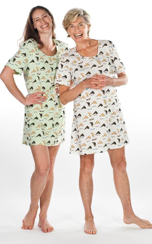 Looks from WildBLEU�s CoolBLEU sleepwear line.