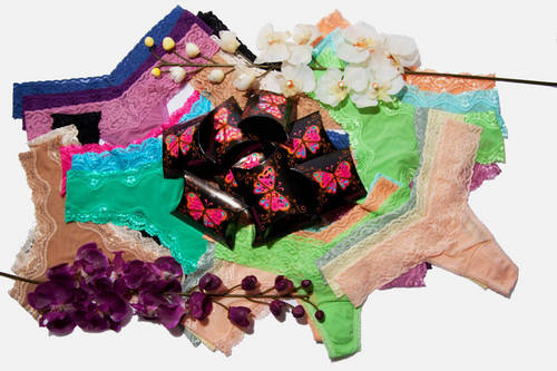 A look from Affinitas' packaged panty line.