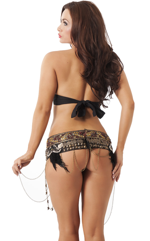 Belly Dancer (style 1877) , back view