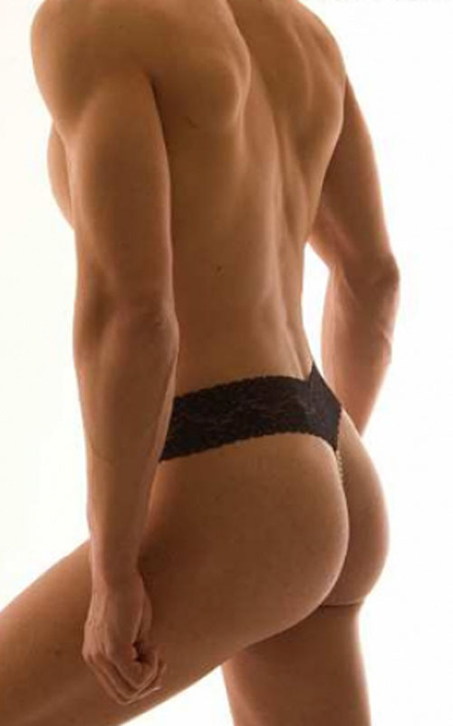 Bracli's pearl thong for men.