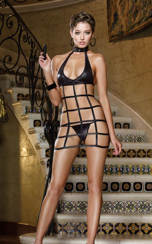 Chemise, Thong and Toy DMND. Style #8039.