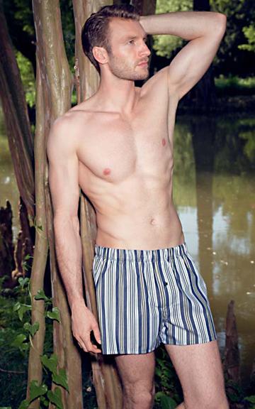 �Fancy Woven� #4013 - men�s boxer, Hanro SS 2013