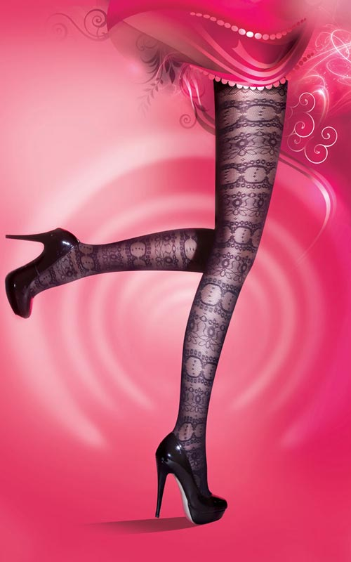 Latest hosiery style from Pretty Polly.
