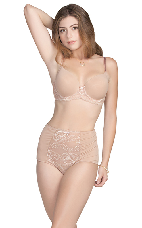 �Sophia� T-shirt Padded Bra (style #7416) and High Waist Brief (style #7451) from Affinitas S/S 2013