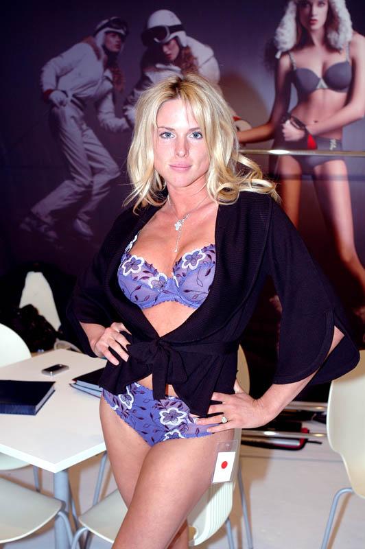 Model for Marie Jo.