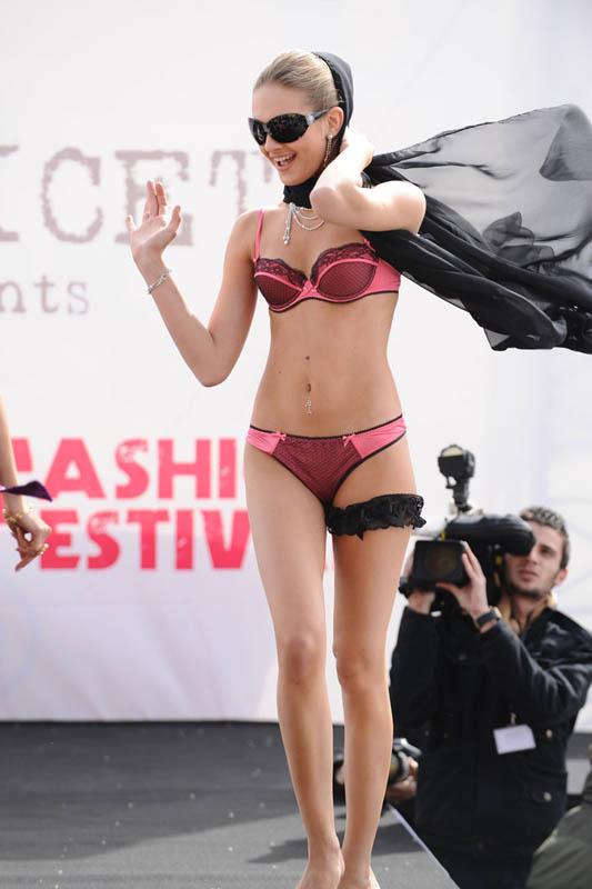 Model in Passionata.