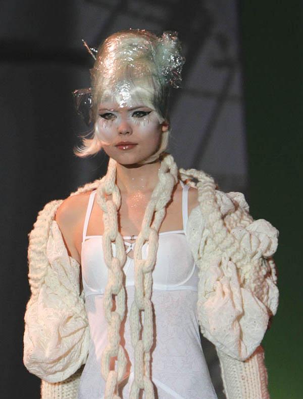 Lingerie by Marlies Dekkers; Textiles by Liebaert.
