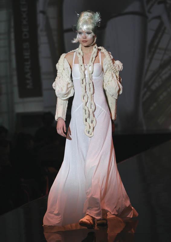 Lingerie by Marlies Dekkers; Textiles by Libaert.