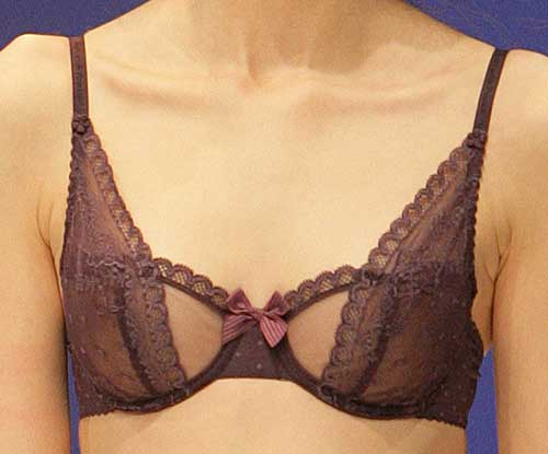 Passionata: Purple bra.
