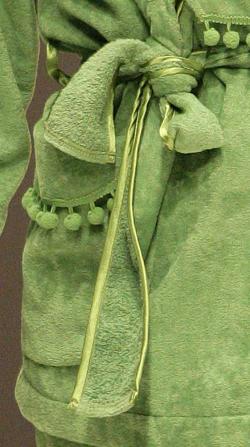 Acqua by Regence: Green wrap close up.