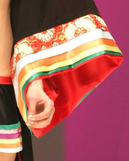 Rui Glamourous: Kimono sleeve.