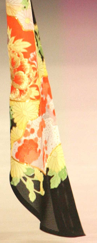 Rui Glamourous: Kimono close up.