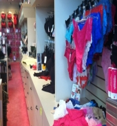Posh Lingerie and Bra Boutique - Inside