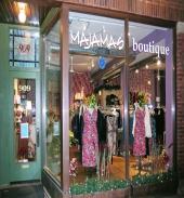 Majamas Boutique - Inside