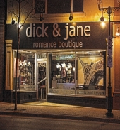 Dick & Jane Romance Boutique - Front