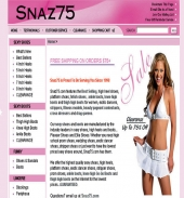 Snaz75 - Front