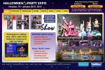 The Halloween & Party Expo website.