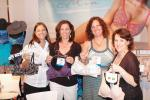 Lori Davison of Amoena, Deanna Tinios and Deborah Robb of Top Drawer in Exeter, N.H., and Andrea Goldsmith of Amoena.