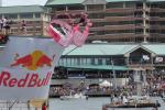 Rhonda Shear Intimates' flying Ahh Bra at the Red Bull Flugtag event in Tampa, Fla.
