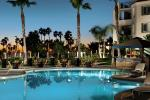 Pool area of the Hyatt Regency Beach Resort & Spa in Huntington Beach, California