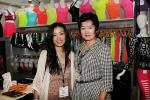Debbie Choi, a DMM at Ross Stores, with Tina Yang.