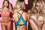 "In May, Victoria's Secret is promoting its Pink racerback bralette and ""new and improved Bombshell."""