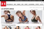 Sports bra images from the Under Armour website.